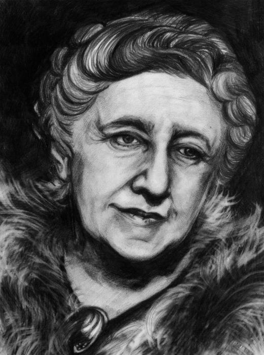 Agatha Christie by Dory21
